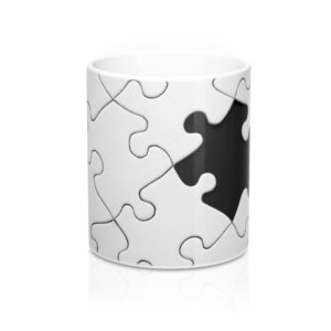 Black Sheep White Mug 11oz