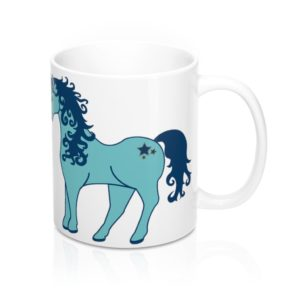 Baby Horse's Mouth White Mug 11oz