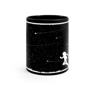 Pocketful of Stars Black mug 11oz